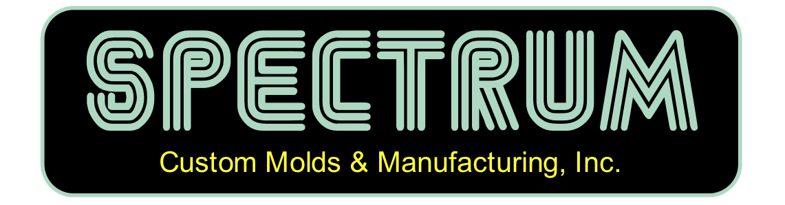 Spectrum Custom Molds Logo