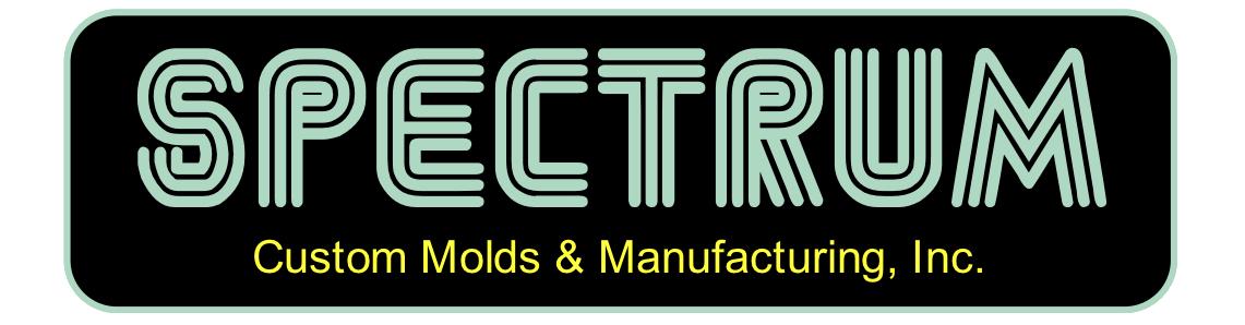 Spectrum Custom Molds Logo